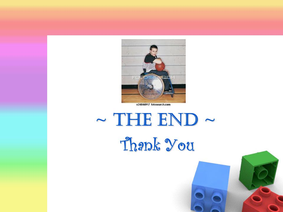 Thank You ~ The End ~