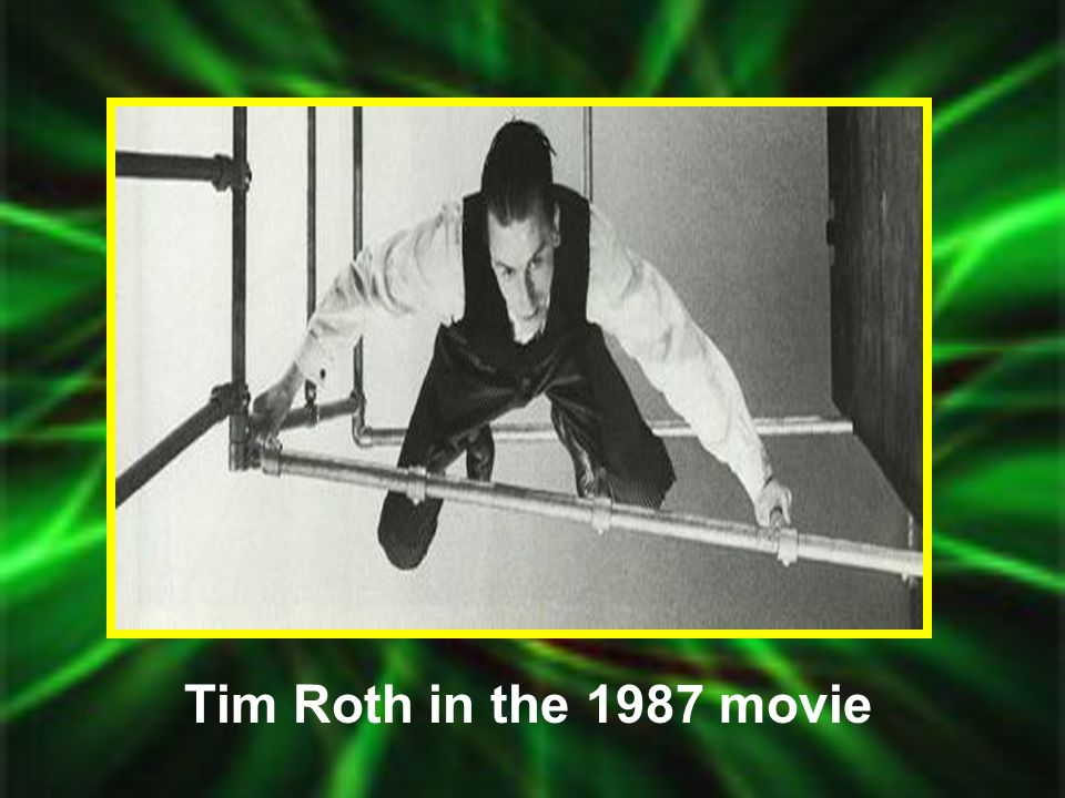 Tim Roth in the 1987 movie