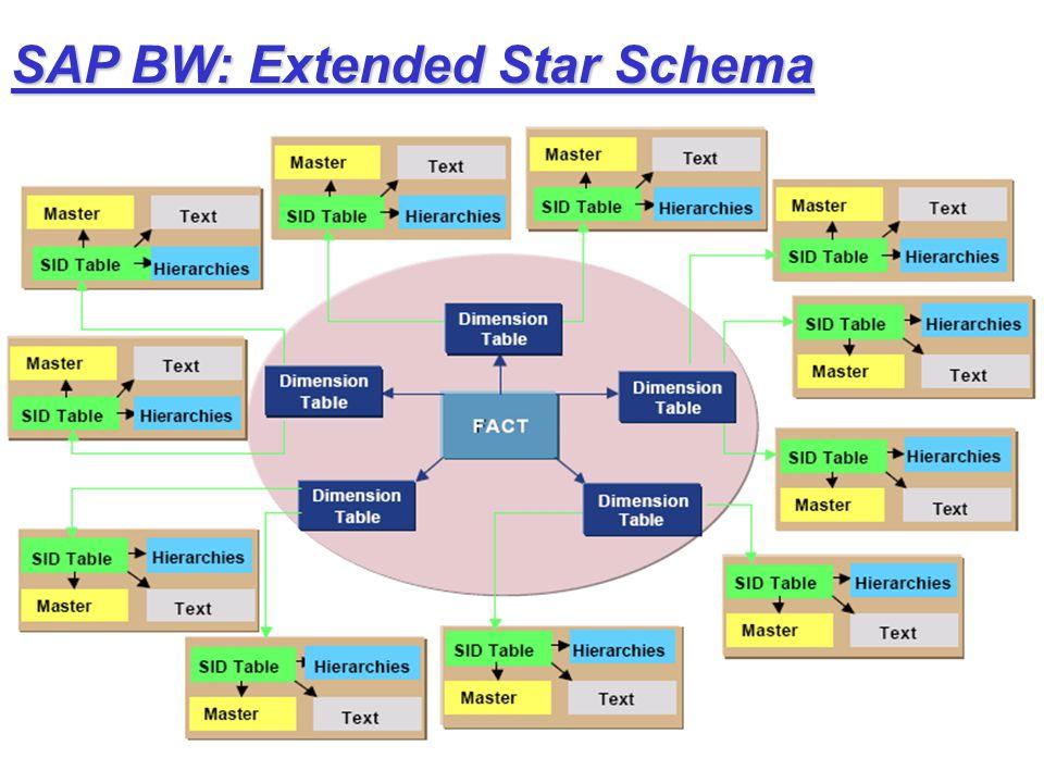 SAP BW: Extended Star Schema