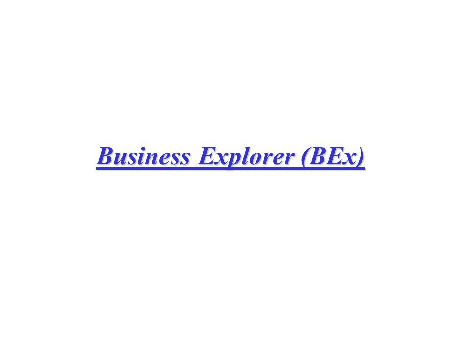 Business Explorer (BEx)