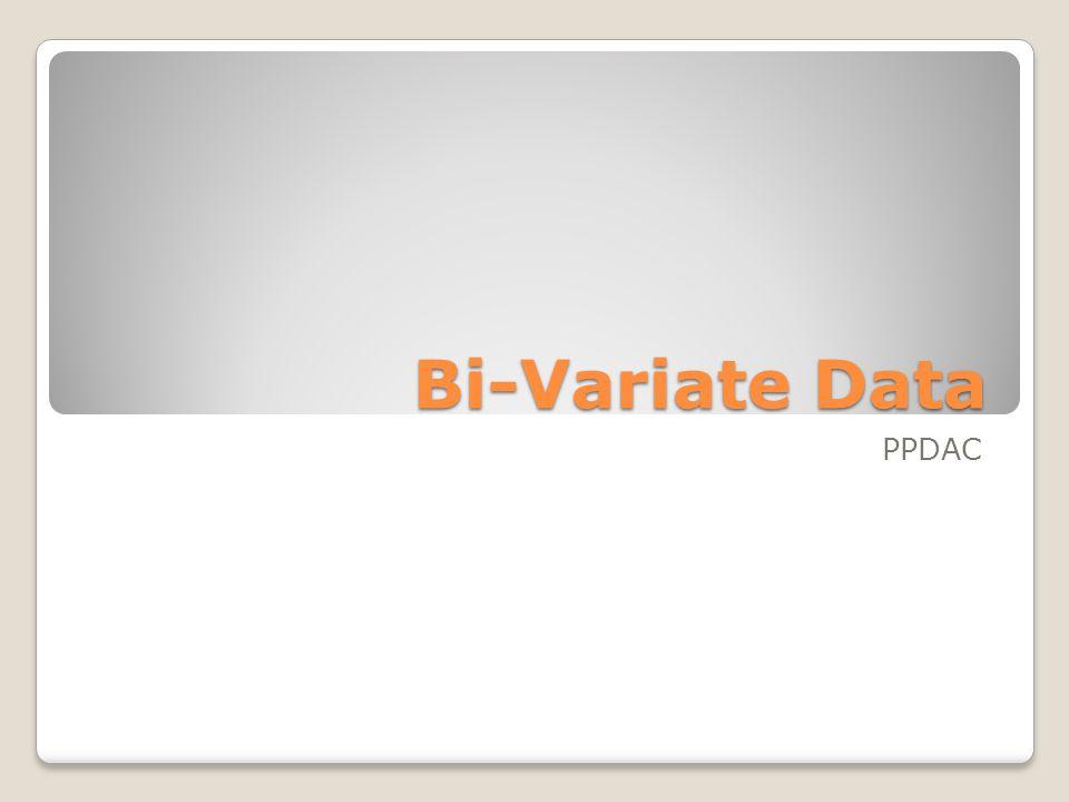 Bi-Variate Data PPDAC