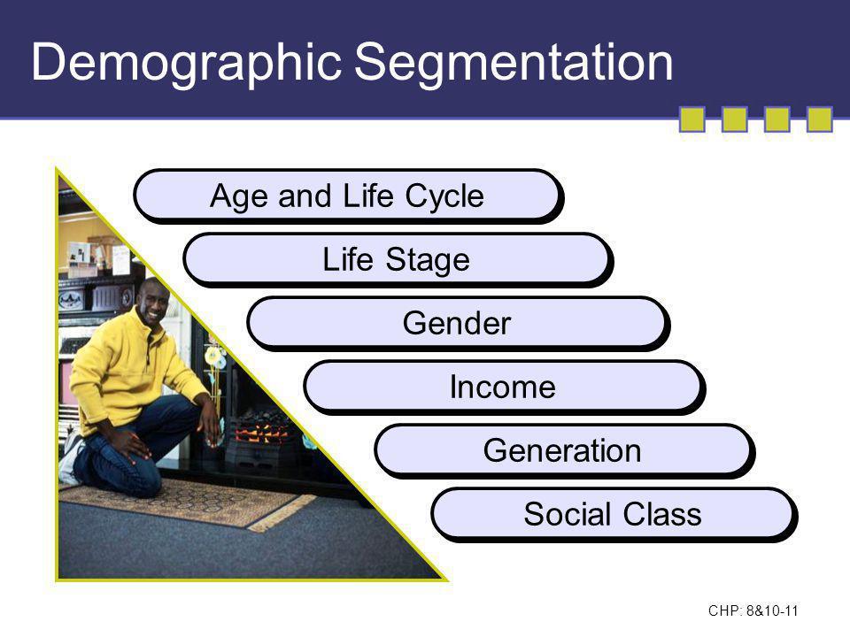 CHP: 8&10-12 Psychographic Segmentation: The VALS Segmentation System
