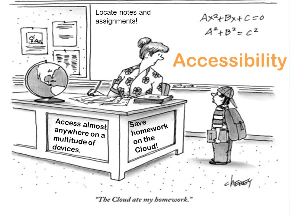 Accessibility Access almost anywhere on a multitude of devices.