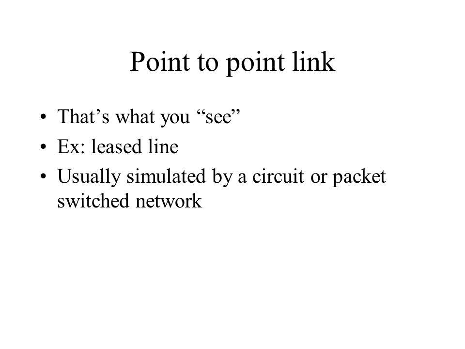 LAN Emulation (LANE) Purpose: emulate a LAN over an ATM network Ethernet or Token Ring Resolves MAC addresses to ATM addresses