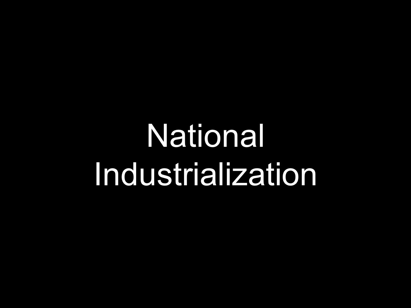 National Industrialization