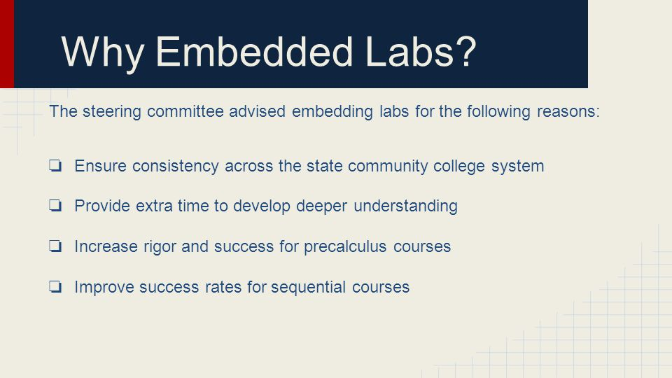 Why Embedded Labs.