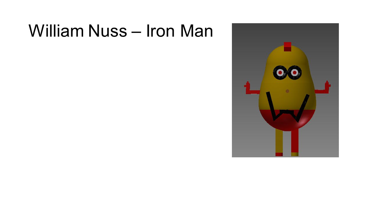 William Nuss – Iron Man