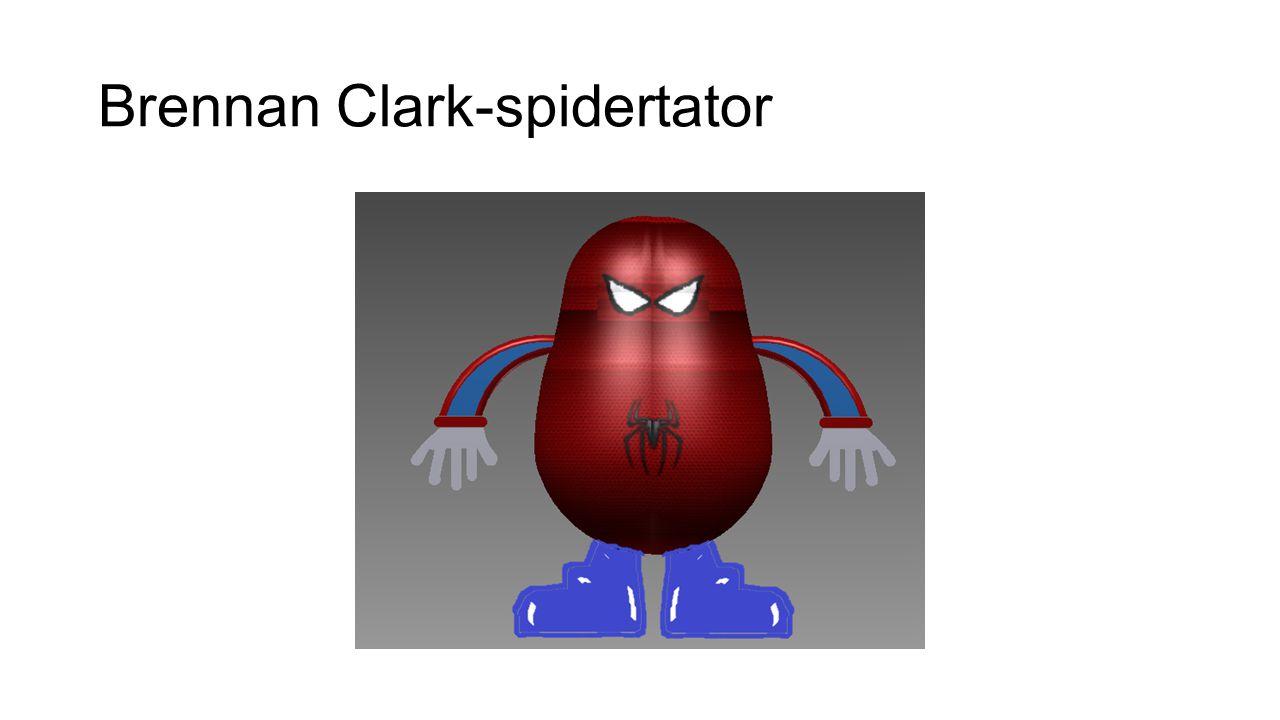 Brennan Clark-spidertator