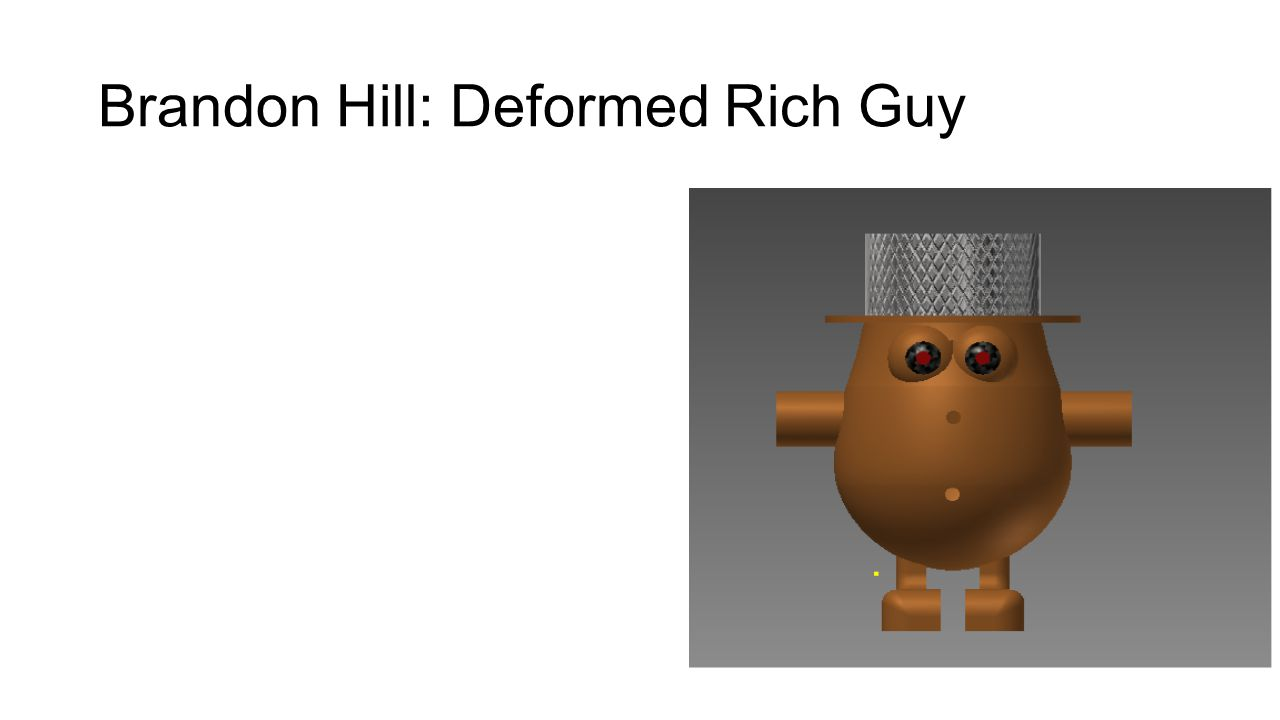 Brandon Hill: Deformed Rich Guy