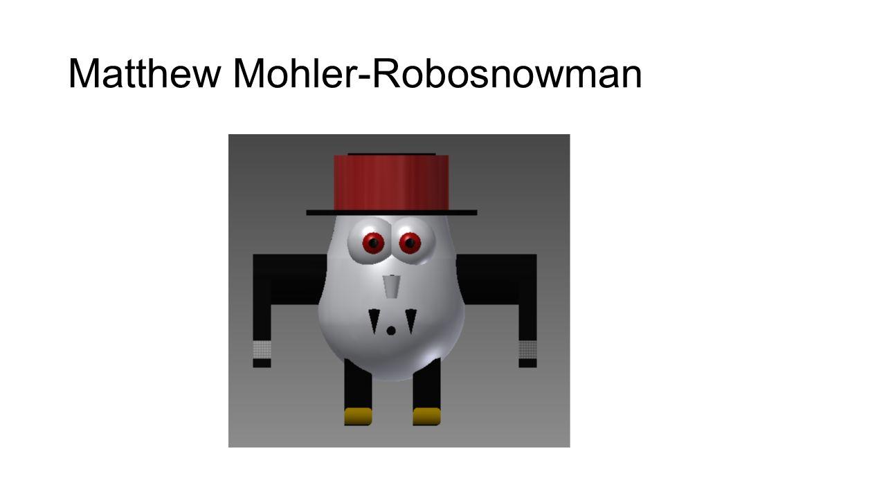 Matthew Mohler-Robosnowman