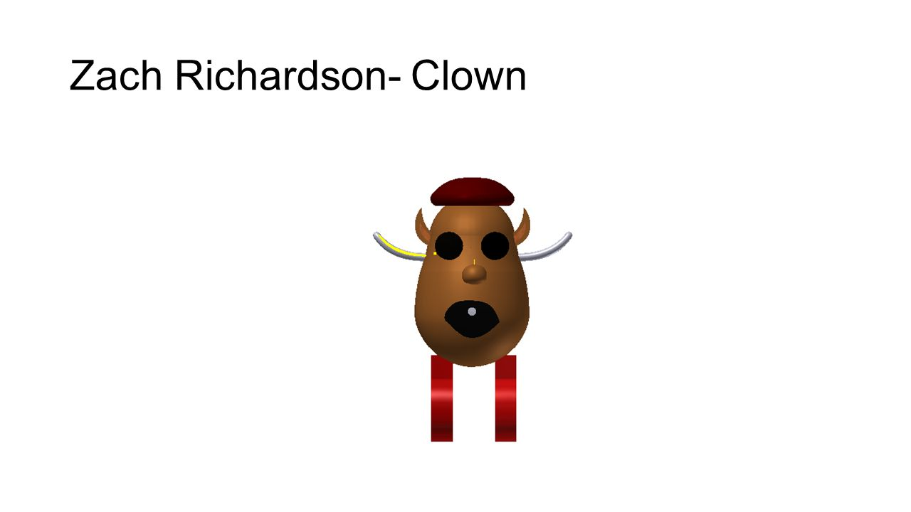 Zach Richardson- Clown
