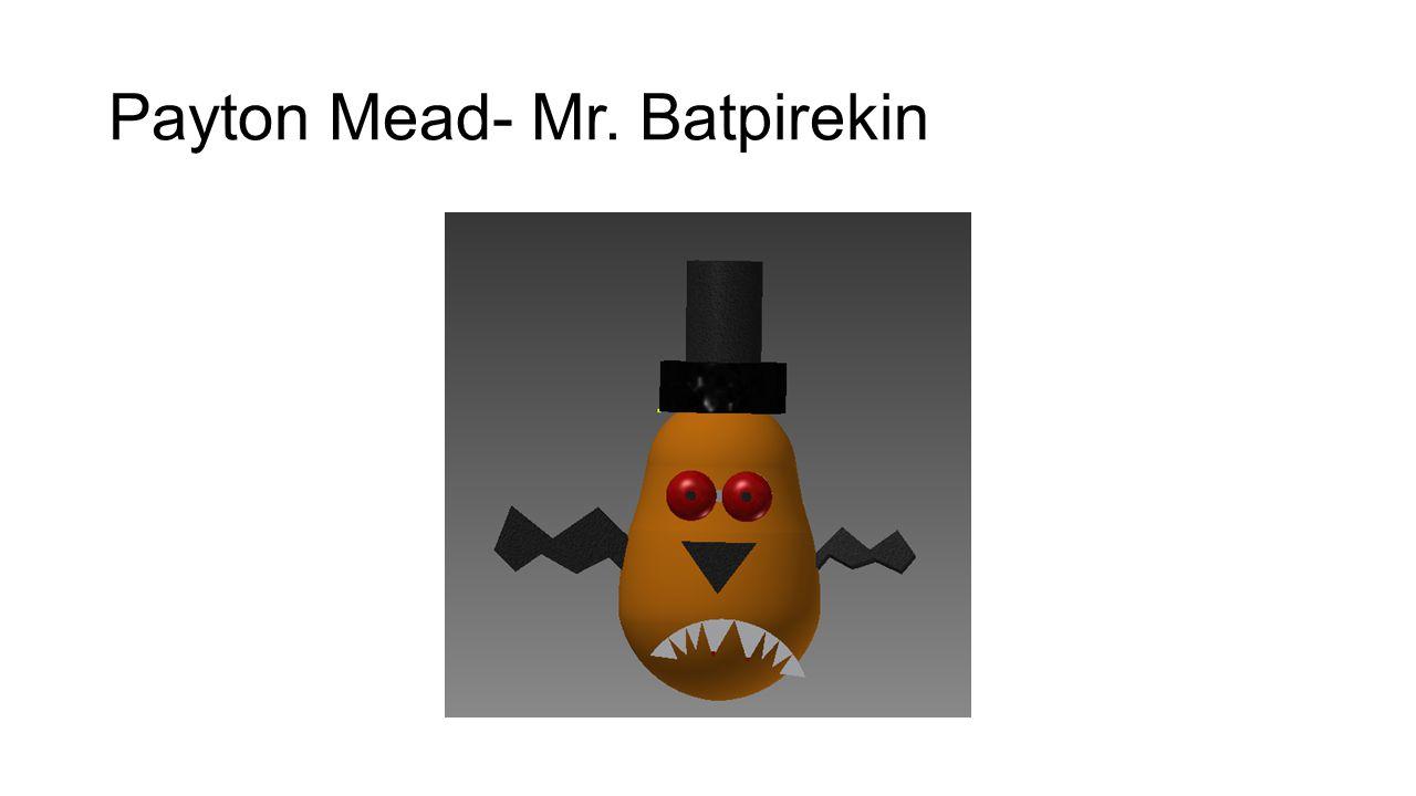 Payton Mead- Mr. Batpirekin