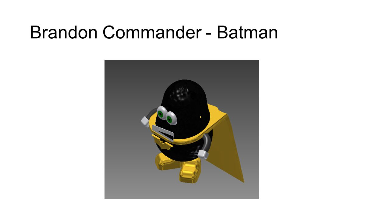 Brandon Commander - Batman