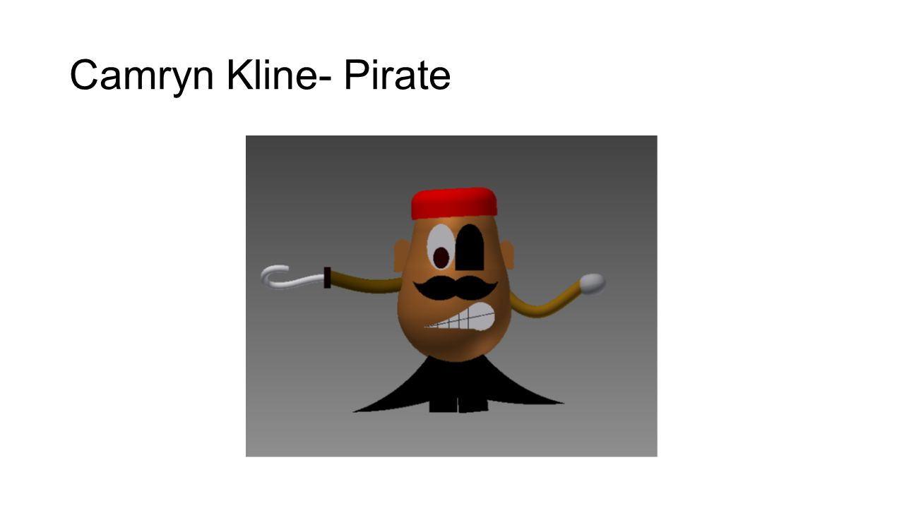 Camryn Kline- Pirate