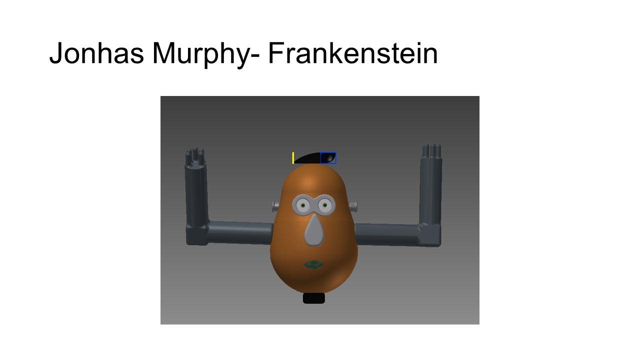 Jonhas Murphy- Frankenstein