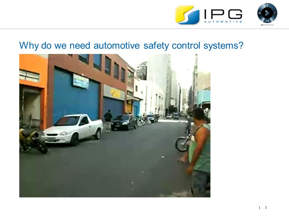 Why do we need automotive safety control systems? 3