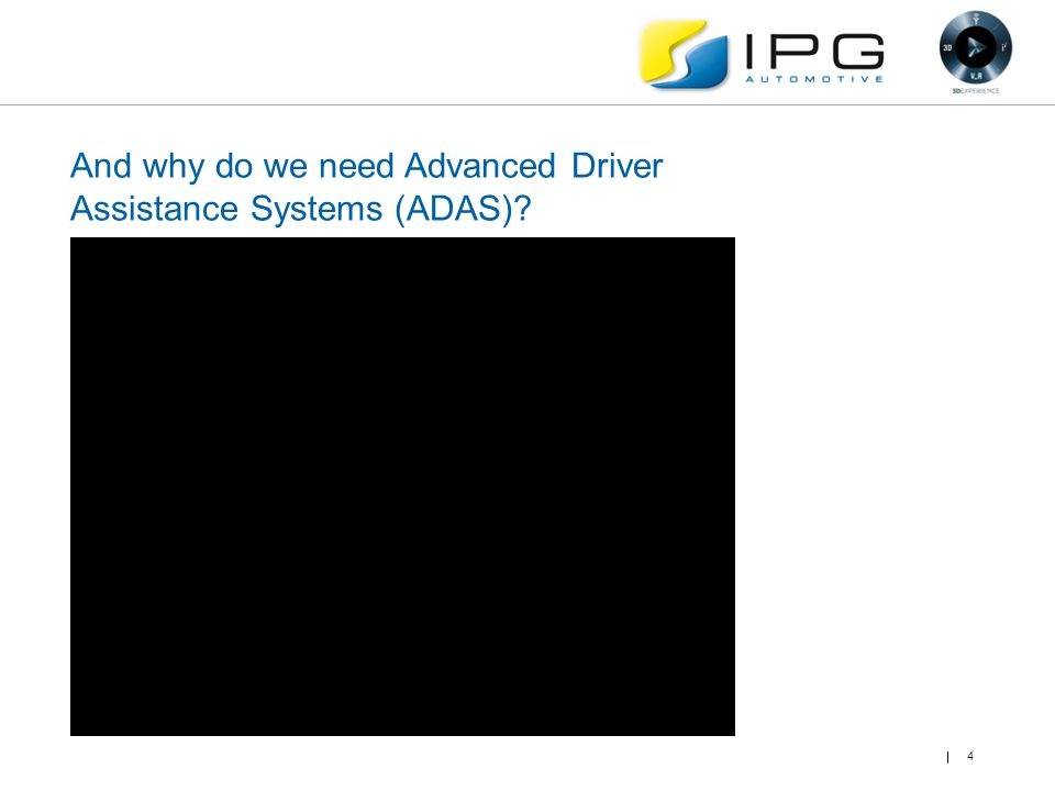 And why do we need Advanced Driver Assistance Systems (ADAS)? 4