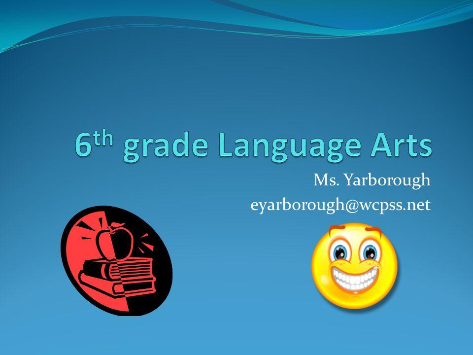 Ms. Yarborough eyarborough@wcpss.net