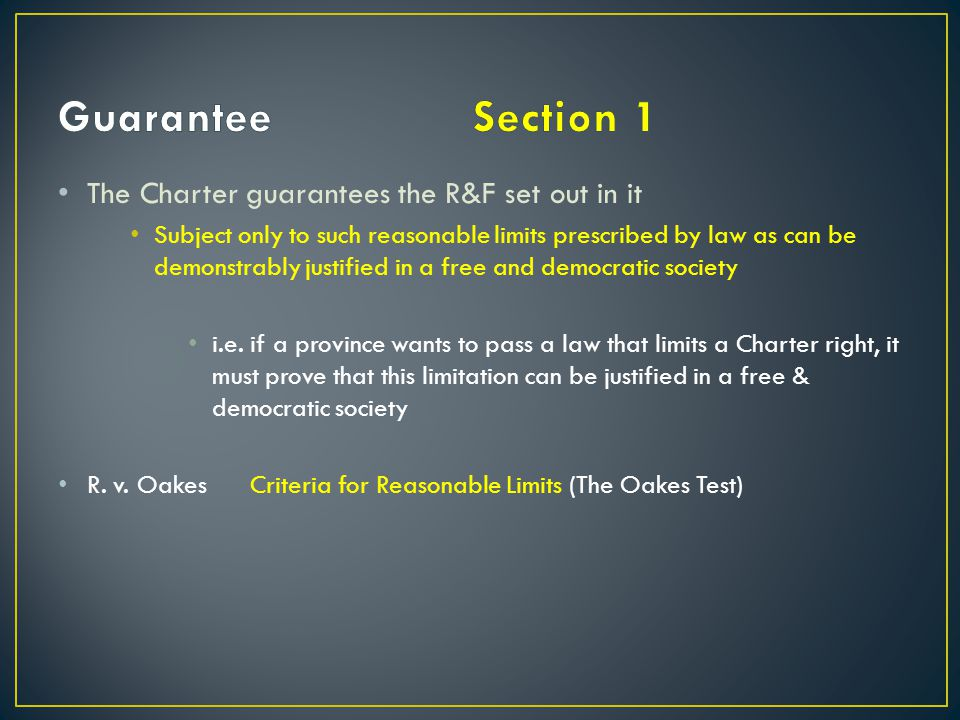 The Charter shall not be interpreted in such a way as to interfere with native rights (25) i.e.