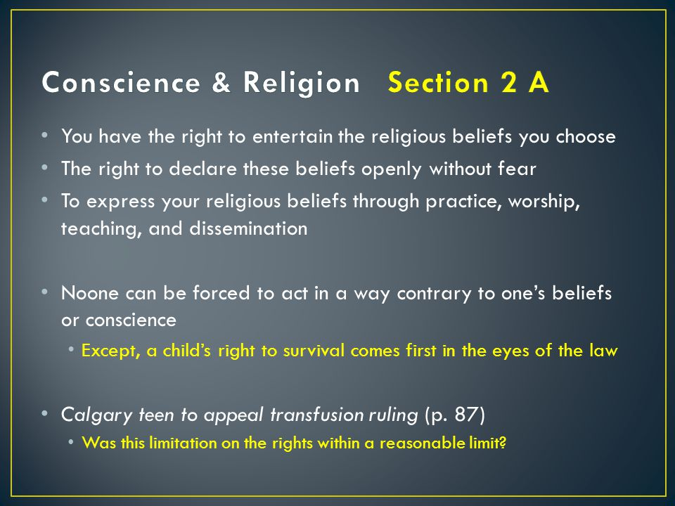 This is cited as the Canadian Charter of Rights and Freedoms
