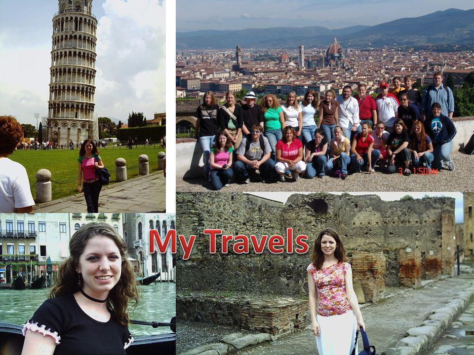 Other interesting places I've been: Budapest, Hungary; Vienna, Austria; Prague, Czech Republic
