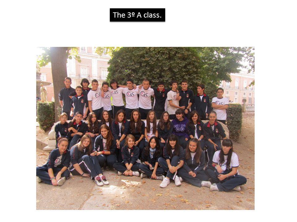 The 3º A class.
