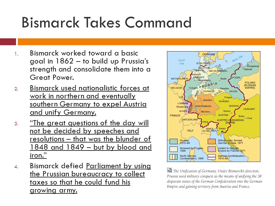 Bismarck Takes Command 1.