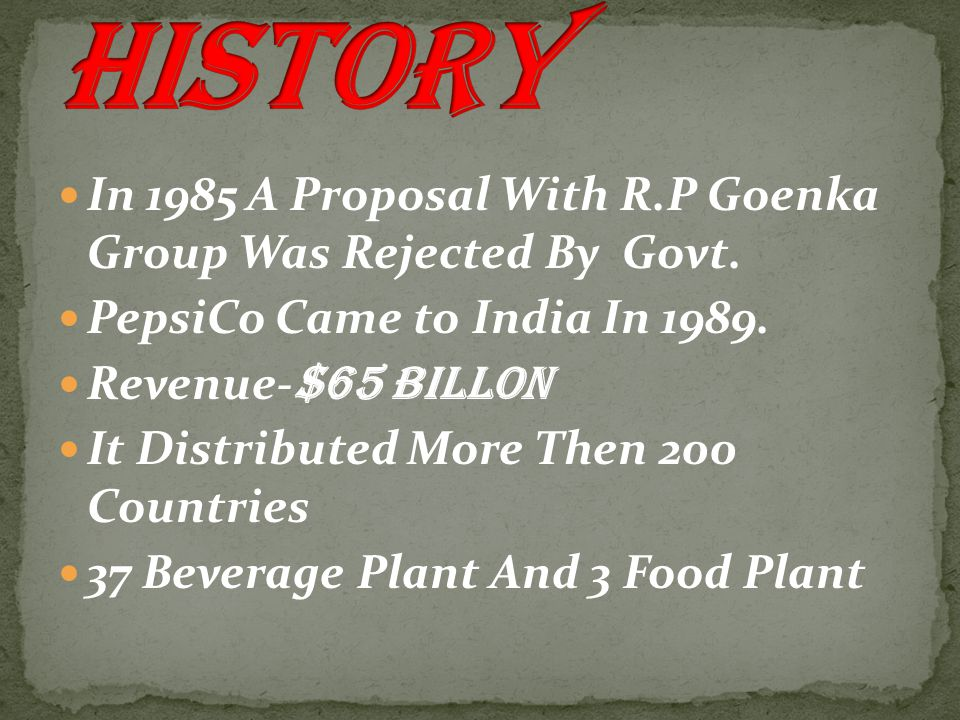 In 1985 A Proposal With R.P Goenka Group Was Rejected By Govt.