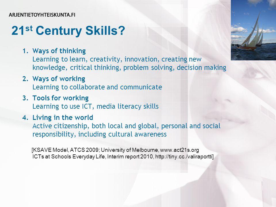 21 st Century Skills.