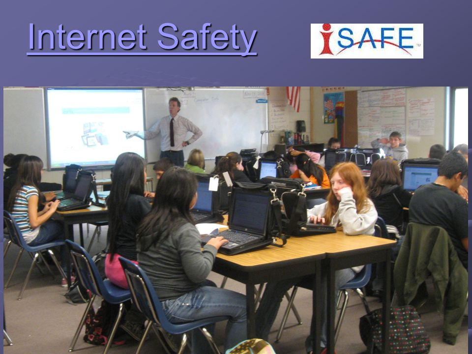 i-SAFE Mission To educate and empower youth to safely and responsibly take control of their Internet experience.