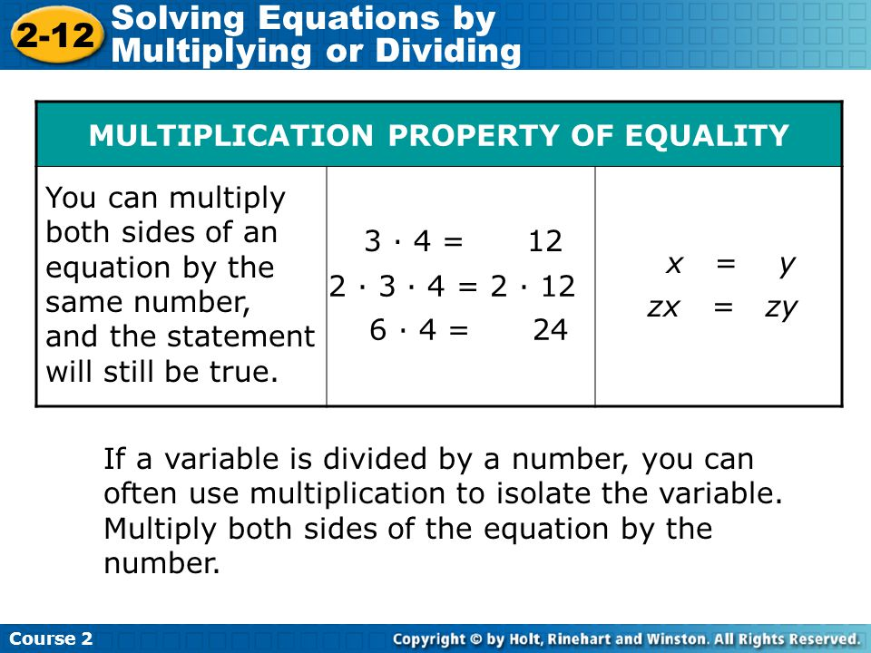 Try This: Example 1 Insert Lesson Title Here Solve the equation = 30.