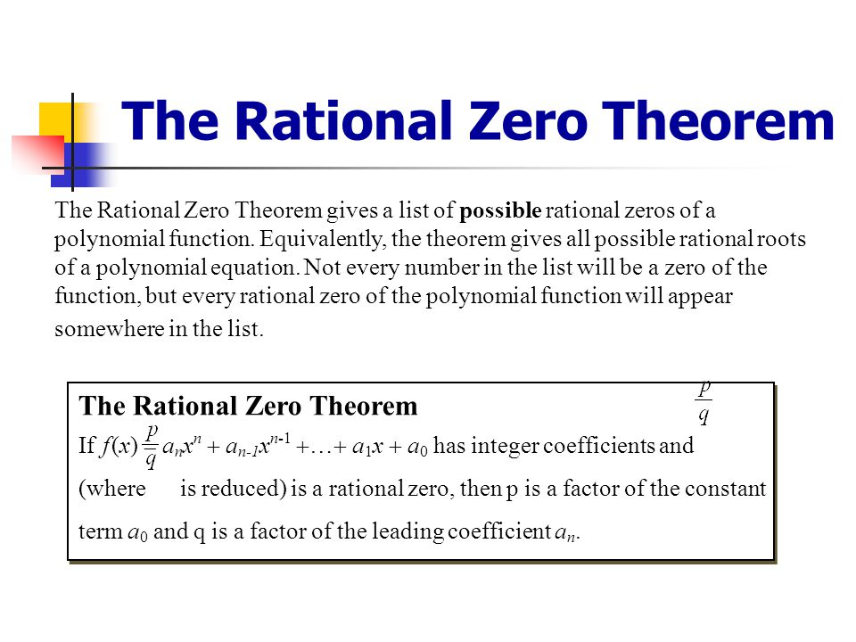 Finding Roots/Zeros of Polynomials We use the Fundamental Thm. Of Algebra, Descartes' Rule of Signs and the Complex Conjugate Thm. to predict the natu