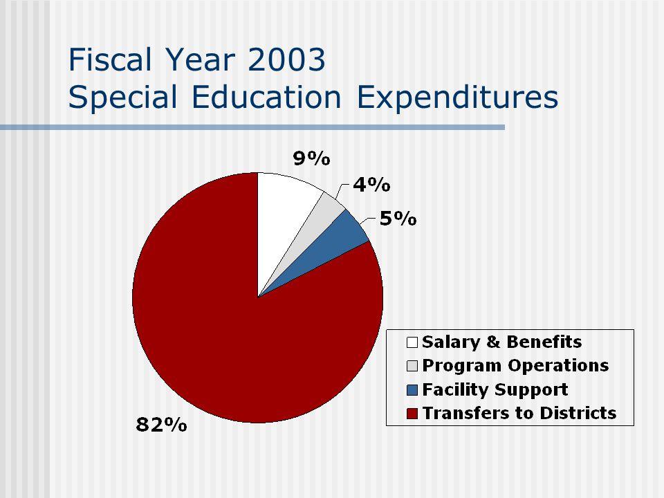 Fiscal Year 2003 Career Focused Education Revenue