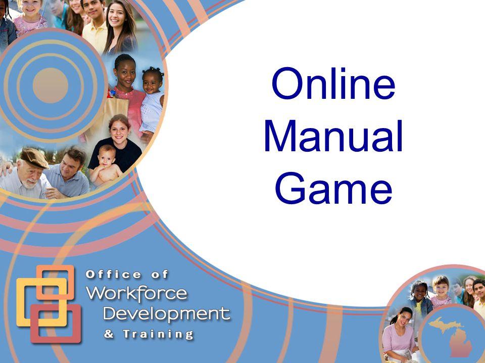 Online Manual Game