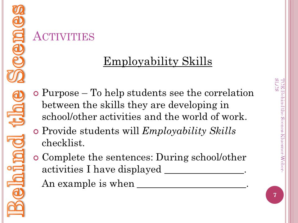 8 Employability Skills Communication Can you write clearly.