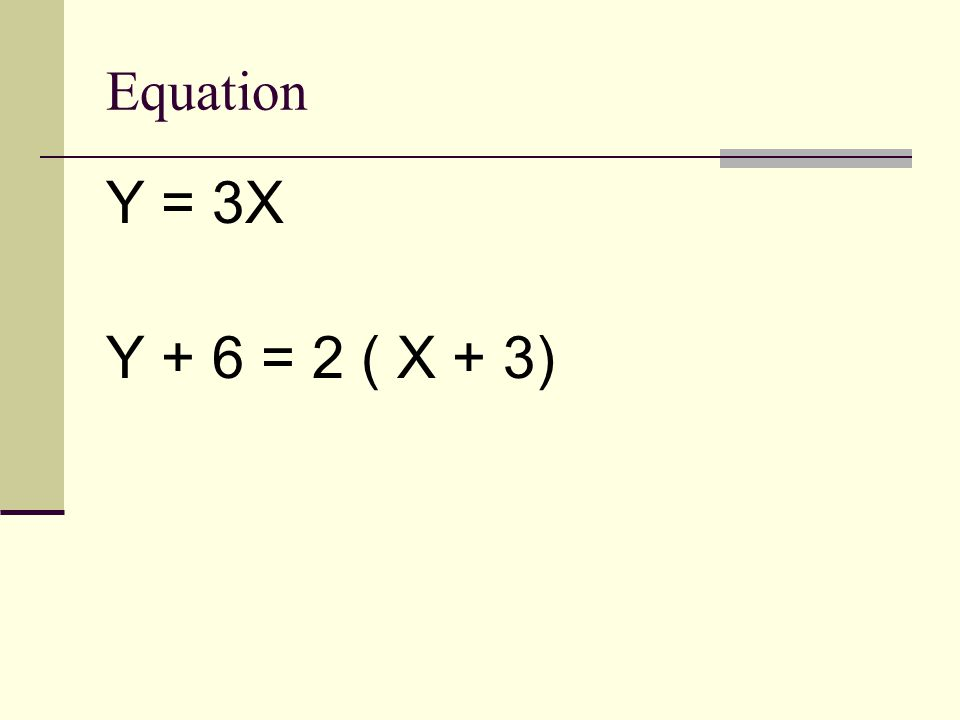 Direct Variation Given one point you can find the equation of a direct variation Find equation of a direct variation that goes through point (4,5)