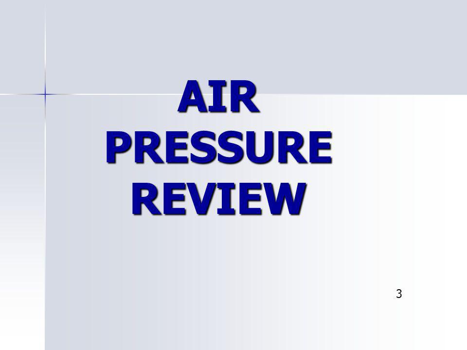 AIR PRESSURE REVIEW 3