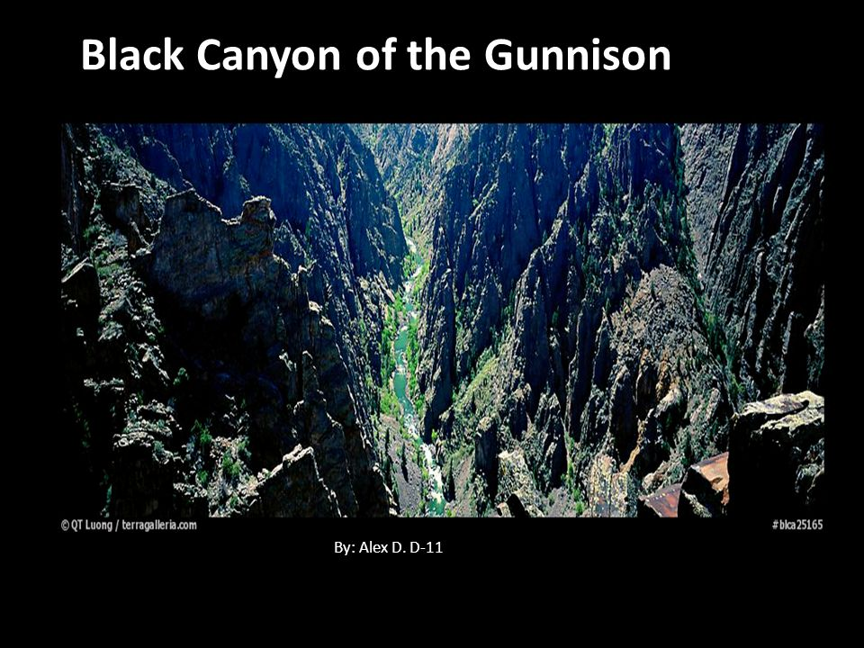 Black Canyon of the Gunnison National park is 32,985 acres.