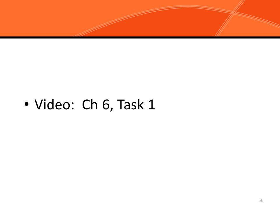 Chapter 6, Task 1: Circulate When Possible, and Scan All Sections of the Classroom Continuously Video: Ch 6, Task 1 58