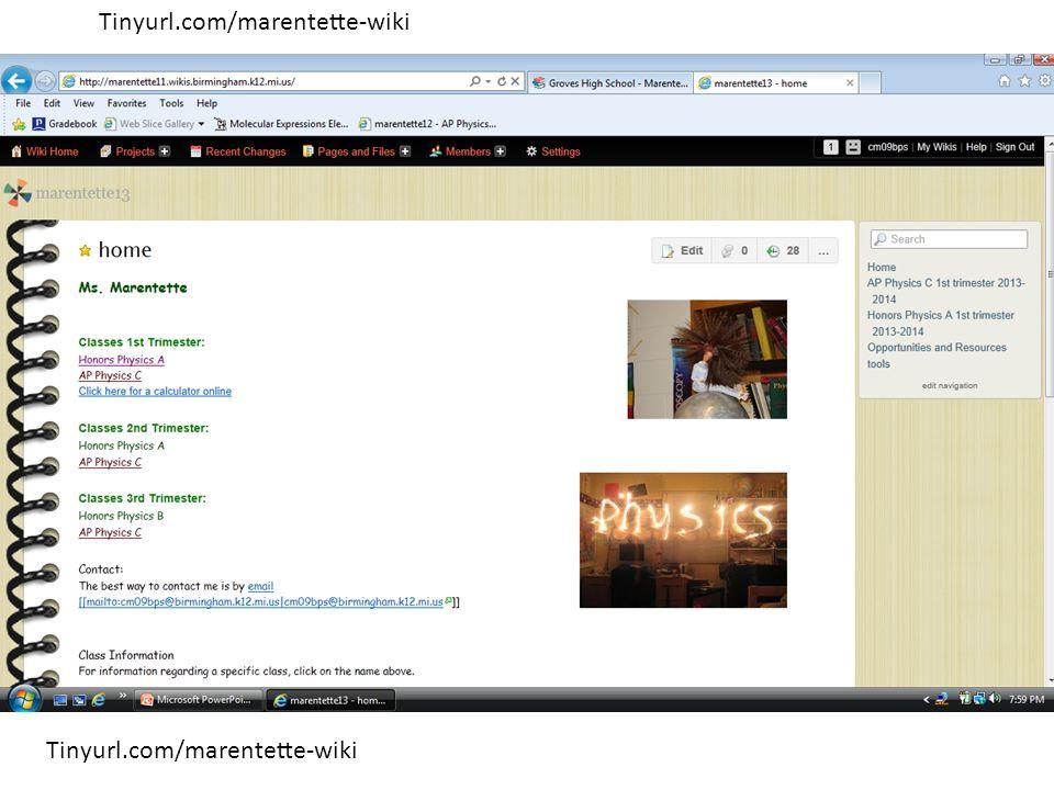 Tinyurl.com/marentette-wiki