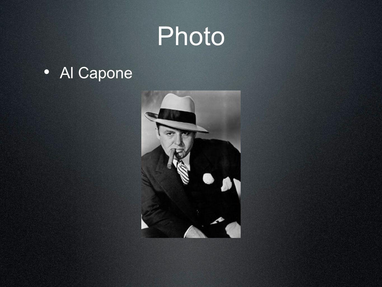 Photo Al Capone