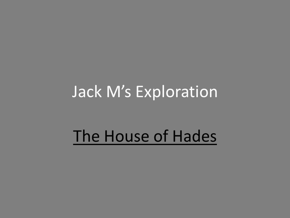 What I did… For my Exploration, I made a Novel Comparison with The House of Hades and Harry Potter and the Order of the Phoenix, my all-time favorite book.