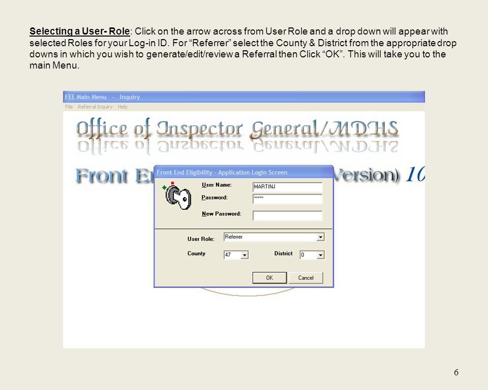 17 Referrer can go back and edit a referral if the Refer to OIG box has not been checked.
