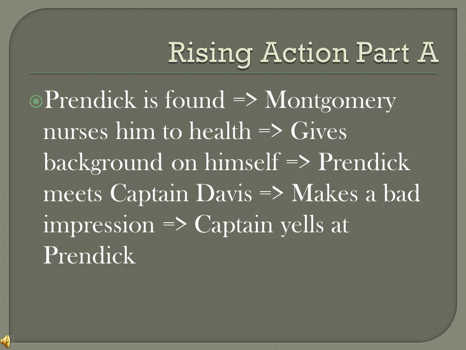  Characters:  Montgomery  William Prendick  Dr.