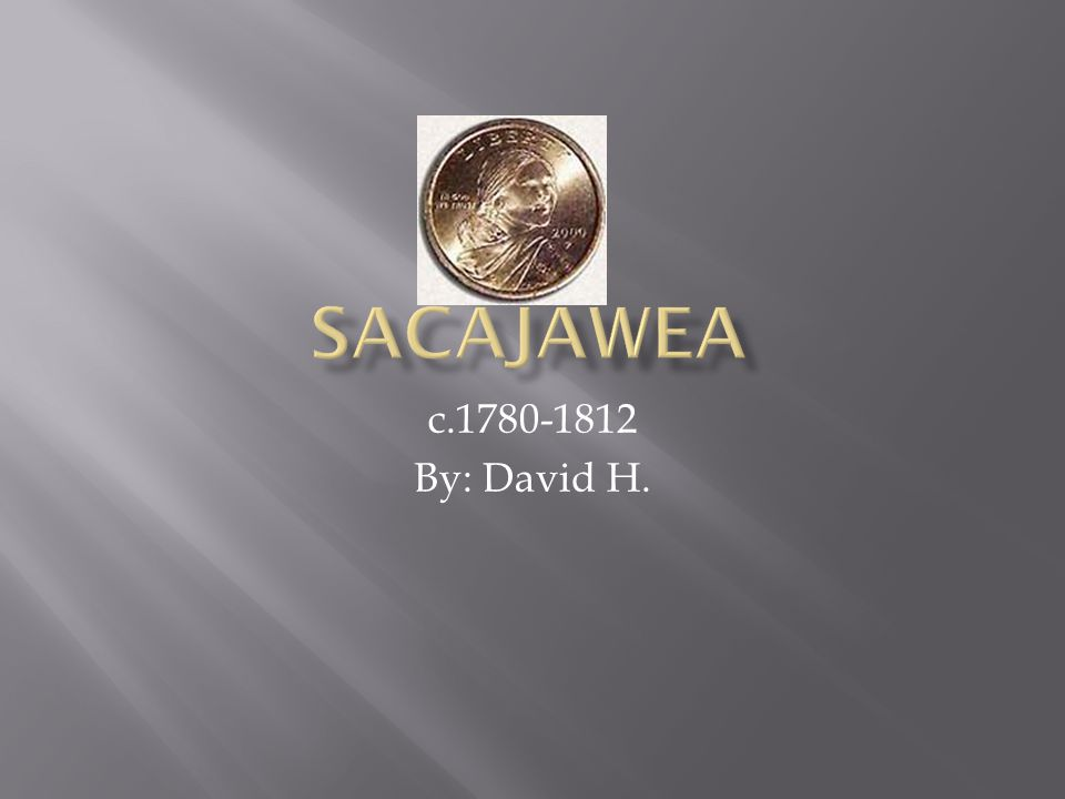  Sacajawea was born around 1780 or so. She was a Shoshone woman and she loved horses.
