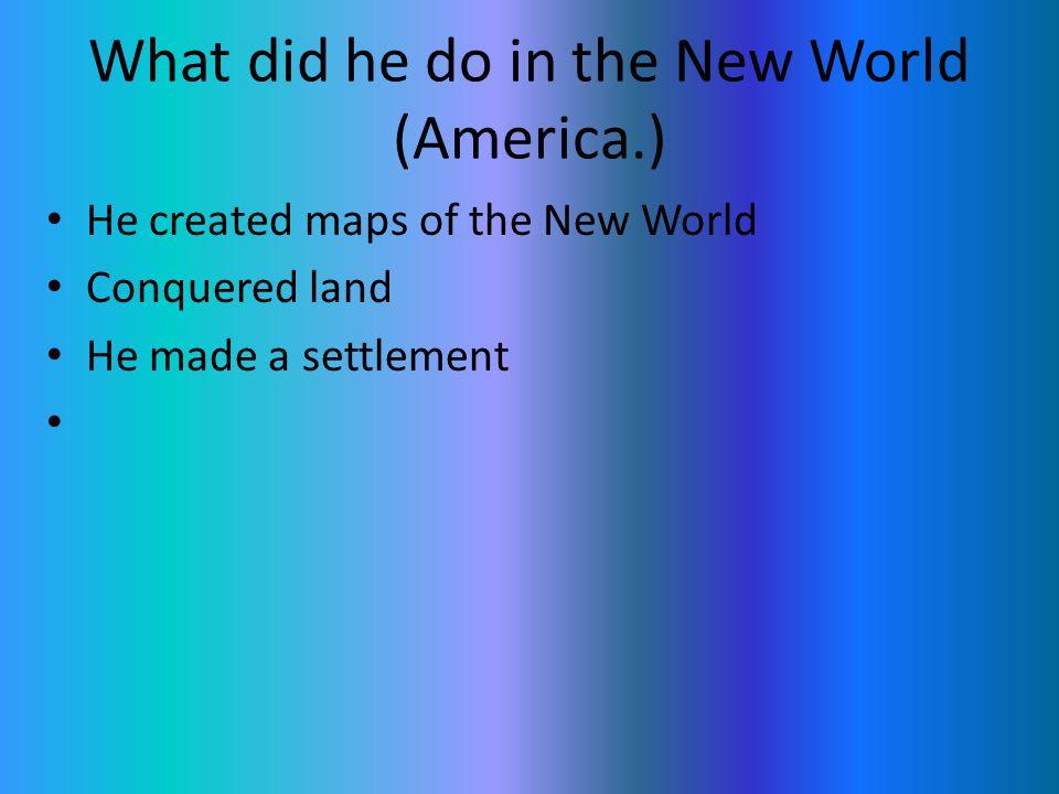 What kind of explorer was he. Merchant Soldier Sailor Nobleman