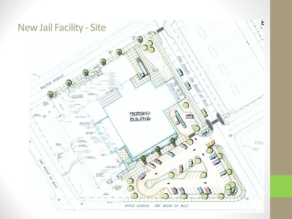 New Jail Facility - Site