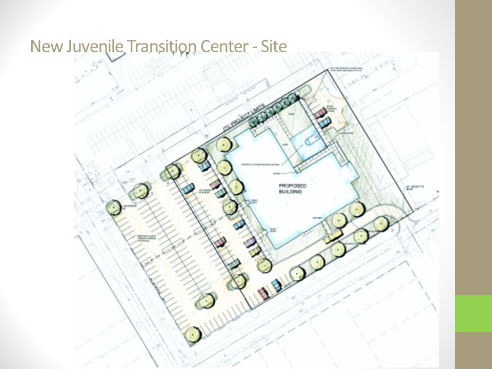 New Juvenile Transition Center - Site