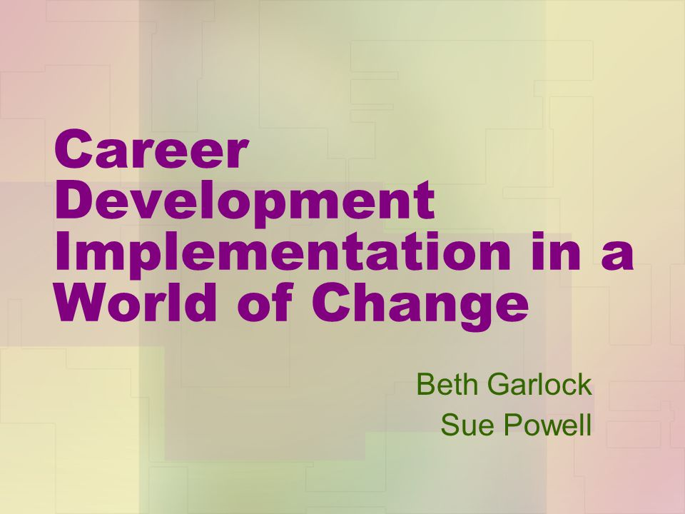 Changes in the Workplace – What will it take to succeed .