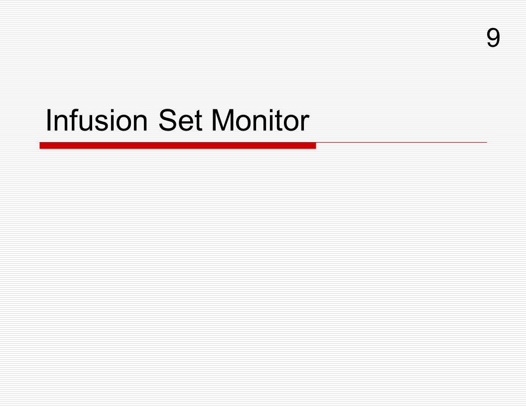 Infusion Set Monitor 9